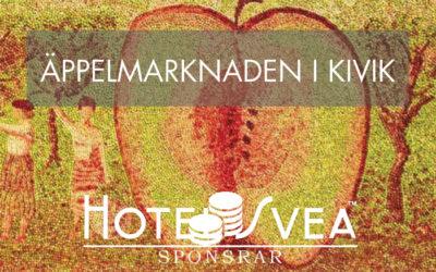 Äppelmarknaden i Kivik på Österlen