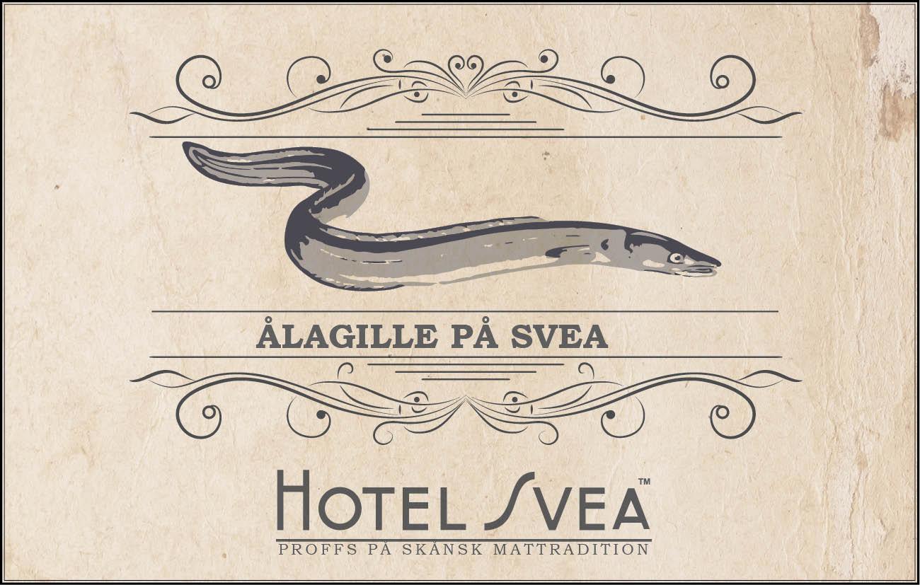Traditionsrikt Ålagille på Hotel Svea